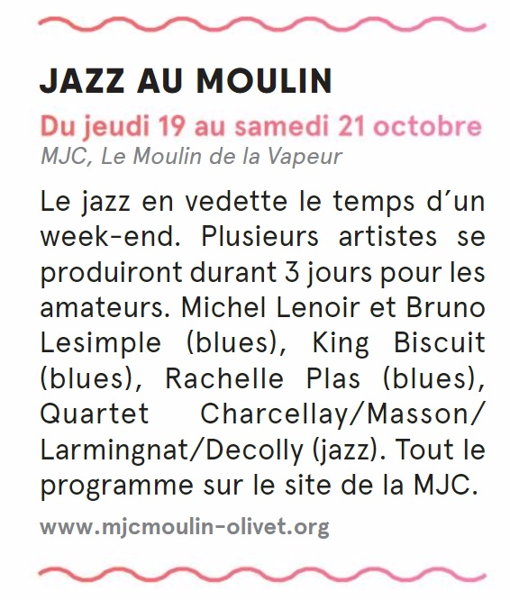 stud octobre novembre 2017 jazz au moulin